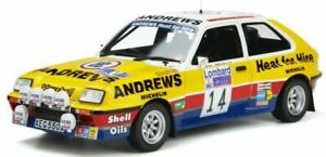 1:18 Vauxhall Chevette Grp B model rally car Russell Brooks 1983 Otto Mobile 370