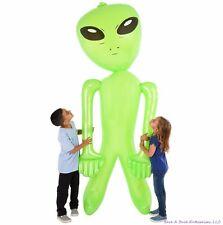 Géant 244cm-254cm Pouce Vert Alien Gonflable - 2.4m Gonfler Accessoire Halloween