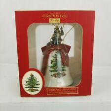 Spode Christmas Tree Santa Bell Annual 2018 New In Box $30 Retail