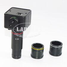 5mp Usb C Mount Digital Microscope Camera 05x Eyepiece Lens Adapter Set 23 30mm
