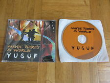 YUSUF Maybe There's A World 2007 UK / EUROPEAN collectors CD single cat stevens