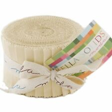 "Moda Bella Solids Natural Junior Jelly Roll 20 2.5"" x 42"" Strips 9900JJR-12"