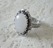 Moonstone Ring, boho bohemian hipster gypsy hippie moroccan new age metaphysical