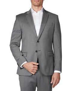GEOFFREY BEENE Slim Fit Tonal Microstructure Suit Jacket-NWT (116R) RRP $339