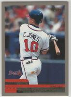 2000 Topps Baseball Atlanta Braves Team Set