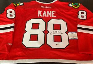 Patrick Kane Chicago Blackhawks Autographed Signed Jersey Red Reebok