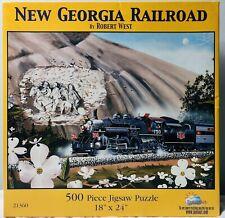 "SunsOut ""New Georgia Railroad"" 500 Piece Puzzle By Robert West 18"" x 24"""
