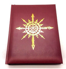 Black Crusade Warhammer RPG 40K Core Rules Rulebook Leatherbound Edition