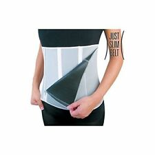 Just Slim Belt faja sauna reductora adelgazante moldeadora 5 cierres