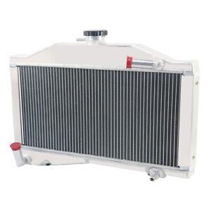 Upgraded 2 Row Aluminium Radiator For Morris Minor 1000 948/1098 1955-1971 1968