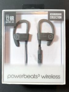 Beats by Dr Dre Powerbeats 3 Wireless Earphone [ Asphalt Gray Edition ] NEW