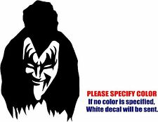"Gene Simmons Kiss Graphic Die Cut decal sticker Car Truck Boat Window Bumper 12"""