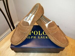 Ralph Lauren suede Raynold Loafers, New Size 11