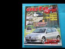 AUTO nr. 1 del 2001 (cover ALFA ROMEO 147 CADAMURO)