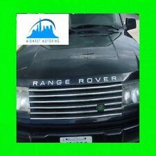 1995-2002 RANGE ROVER CHROME GRILLE TRIM 1996 1997 1998 1999 2000 2001 P38