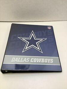 NFL Dallas Cowboys Binder, 3-Ring Binder, 1 Inch, Free Shipping