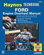 Ford V8 Engine Overhaul Manual Book 289 302 351 360 390 400 428 429 460 7637
