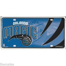 ORLANDO MAGIC TEAM LOGO NBA BASKETBALL METAL LICENSE PLATE MADE IN USA