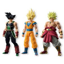 Bandai Shokugan Shodo DBZ Dragon Ball Z Neo Broly Goku Bardock 3 Figure