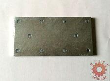 Eisenplatte Stahlplatte Montageplatte 240x120mm feuerverzinkt 0128
