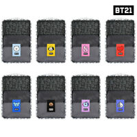 BTS BT21 Official Authentic Goods monopoly Clothes Pouch Set COOKY CHIMY  Etc