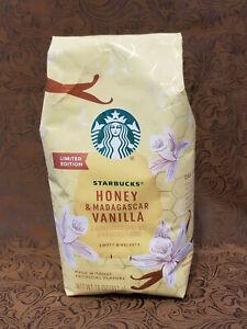 Starbucks LIMITED EDITION Honey & Madagascar Vanilla No Artificial 311 g / 11 oz