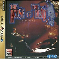 The House of The Dead  SEGA Saturn SS Import Japan