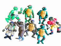 TMNT Lot Of 8 Action Figures 80s 90s Turtles