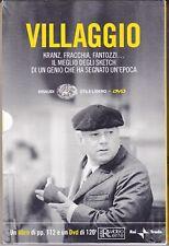 Dvd + Libro PAOLO VILLAGGIO ~ FRACCHIA FANTOZZI KRANZ + L'EPOPEA DI UNA MASCHERA