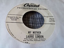 Laurie London 45 Three O'Clock/My Mother Capitol Promo 4133