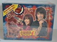 CAMP ROCK Keepsake BOX Demi Lovato Jonas Brothers 3 Drawers 2008 Disney Collect
