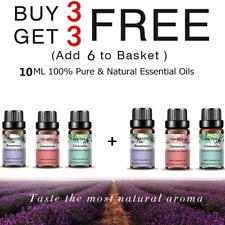 10 ml de aromaterapia terapéutica de aceites esenciales naturales puros