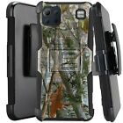 Holster Case For LG K92 5G (2020) Hybrid Kickstand Phone Cover - CAMO BRANCHES