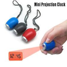 Horloge numérique de projection de temps Mini LED Watch Projector Lampe de poche