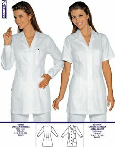 Vest Marbella Woman Beautician Doctor ISACCO Medical Shirts ジャケット医療エステティシャン