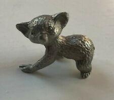 Small Sterling Silver Koala Figurine