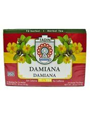TADIN DAMIANA TEA 24 BAGS /  3 BOXES TE DE DAMIANA TADIN 24 BOLSAS
