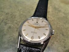 Vintage Rare Universal Geneve Polerouter Jet Automatic Microtor Watch Cal 215-9