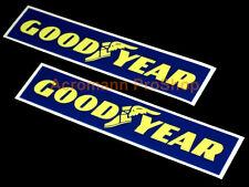 "2x 6"" 15.2cm Goodyear decal sticker tires truck Indy rally sponsor vinyl car d1"