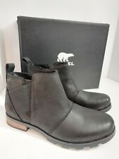 SOREL - Women's Emelie Chelsea Ankle Boots Size 10 Cattail BRAND NEW