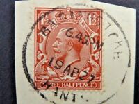 362/332] - GB STAMPS KING GEORGE V   1.5d FINE USED RED BROWN