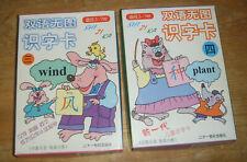 2 x Boxes Chinese / English Language Flash Cards