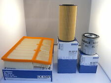 Mercedes C Class C250 2.5 TD Service Kit Oil Air Fuel Filter 96-01 *OE MAHLE*