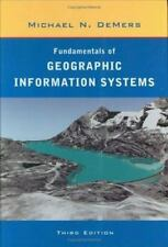 Fundamentals of Geographic Information Systems, DeMers, Michael N., 0471204919,
