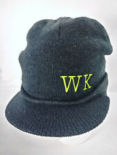 WK Stocking Cap W/Brim Adult Black District Threads