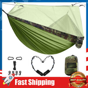 Double Camping Hammock with Mosquito Net for Travel Outdoor Gear Camping
