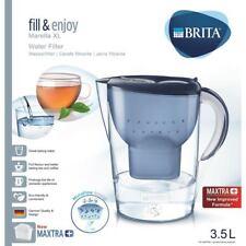 Brita Marella XL Maxtra + Plus 3.5 L Filtre à Eau Table Carafe avec 1 cartouche, bleu