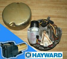 New listing Hayward Super Pump Complete Rear Motor Assembly 1Hp Ao Smith Capacitor Used Pool