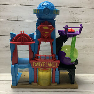 Fisher Price Imaginext Superman Daily Planet Playset DC Super Friends Kids Toy
