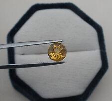 Citrine Round Natural Loose Faceted Gem 8mm